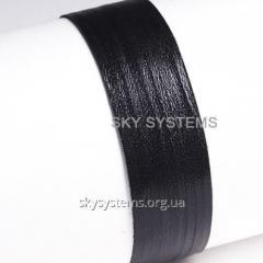 Кожаная лента | 3,0 х 0,7 мм, Цвет: Черный
