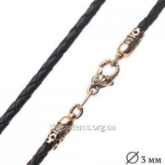 """Leather lace """"Small fish"""" with a"""