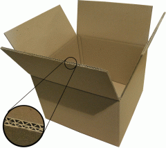 Five-layer corrugated boxes