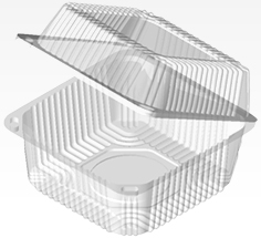 Disposable plastic containers
