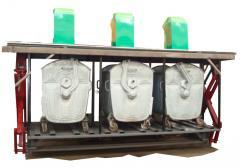 Equipment for underground storage of garbage