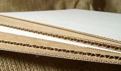 Corrugated sheet for PERMUT