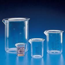Посуда стеклянная химико-лабораторная