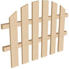 Забор секционный высота 75 см