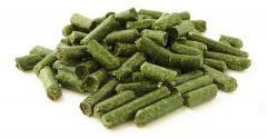 Feed pellets herbal