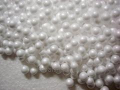 Granule of polyfoam (expanded polystyrene),