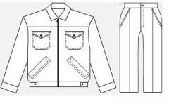 Униформа для охраны  камуфляж