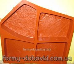Формы Термополиуретановые для производства плитки