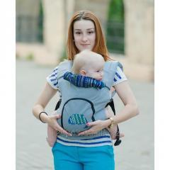 Ergonomic backpack with a setochka on a back