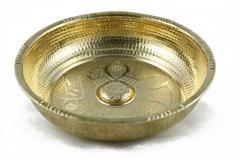 Basin for the Turkish bath brass
