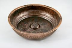 Basin for hammam bronze