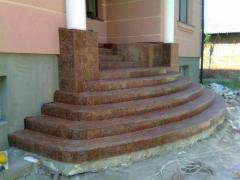 Гранітні сходи ,фасади