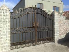 Кованные ворота решетки