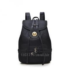 Женский  молодежный рюкзак черный.