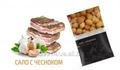 Арахис в хрустящей оболочке со вкусом сала с чесноком MR.CRISPER