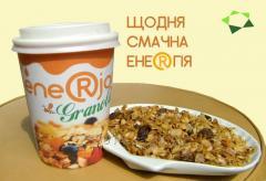 "Granola nut and fruit TM ""ENERJOY"