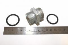 Н-р фланец (угловая муфта) (штуцерS32+кольцо) арт.  239