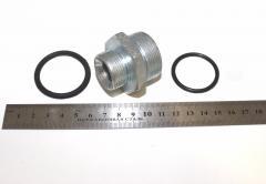 Н-р фланец (угловая муфта) (штуцерS41+кольцо) арт.  243