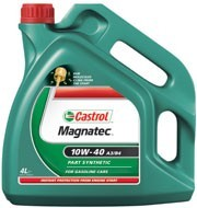 Castrol semi-synthetic engine oil