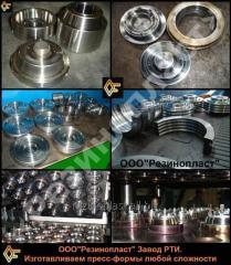 Compression molds for rubber products (RTI),