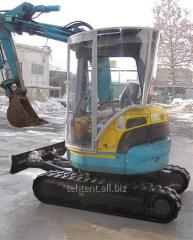 Excavation works machinery and equipment