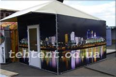 Палатка с рекламой