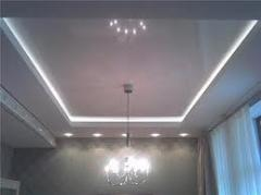 Two-level in Ukraine to buy stretch ceilings the