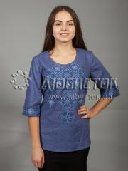 Вышитая блузка ЖБВ 10-2