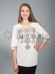 Вышитая блузка ЖБВ 10-5