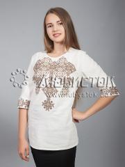 Вышитая блузка ЖБВ 10-6