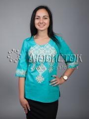 Вышитая блузка ЖБВ 10-7