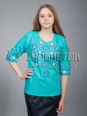Вышитая блузка ЖБВ 10-8
