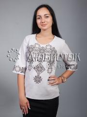 Вышитая блузка ЖБВ 10-9