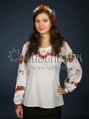Вышитая блузка ЖБВ 1-1