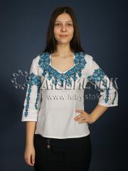 Вышитая блузка ЖБВ 12-2