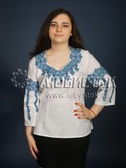 Вышитая блузка ЖБВ 12-3