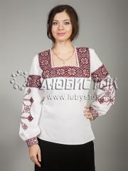 Вышитая блузка ЖБВ 17-1