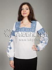 Вышитая блузка ЖБВ 17-2