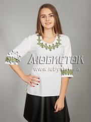 Вышитая блузка ЖБВ 21-2