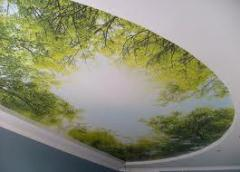 To buy stretch ceilings with a photo printing in