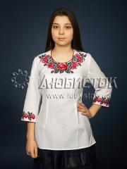 Вышитая блузка ЖБВ 6-1