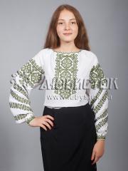 Вышитая блузка ЖБВ 9-3