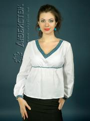 Вышитая модная блузка ЖБ 96-45