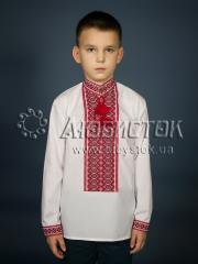 Вышитая сорочка для мальчиков ЧС 1-75Д