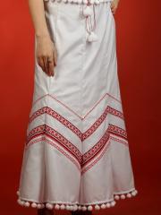 Вышитая юбка С 12-17