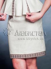 Вышитая юбка С 15-62