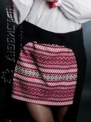 Вышитая юбка С 20-01