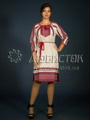 Вышитое модное платье ЖП 101-85