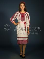 Вышитое модное платье ЖП 101-89
