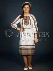 Вышитое модное платье ЖП 101-92